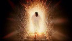 Jesus leaves the tomb