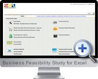The Excel Business Feasibility Study template provides a comprehensive business plan and feasibility study analysis for proposed businesses and ventures to provide confidence to managers and investors.