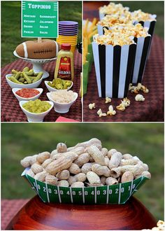 """Hot Dog Bar"" Tailgate Party"