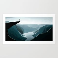 Art Vector Adventure Vector work inspired by the natural landscape and adventure #adventure #tuffo #avventura #vector #dive #cliff #landscape #natural #crazyartsale