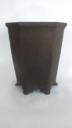 vasos de cerâmica de alta temperatura  bonsai