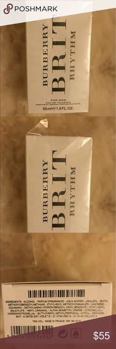 Burberry perfume New but I removed wraps to let a client smell/try Burberry Accessories