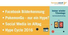 Immer wieder TZonntags, 28.8.2016: Pokémon Go-Hype, Hype Cycle 2016, Facebook-Bilderkennung, Social Media im Alltag, Chancen durch KI
