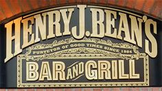 Henry J Beans - Aberdeen - one of my favourite places and a total blast from the past. It smelt of sick around the bar but we loved the place Aberdeen Scotland, Cool Bars, Man Cave, Growing Up, Sick, Nostalgia, The Past, Beans, History