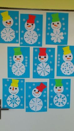 Snowflakes art, snowflake craft, winter fun, winter theme, winter activities for kids Kids Crafts, Winter Kids, Christmas Crafts For Kids, Christmas Activities, Toddler Crafts, Christmas Art, Holiday Crafts, Winter Activities, Winter Crafts For Prek