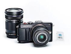 Olympus PEN E-PL6 Two Lens Kit + FlashAir Memory Card Olympus http://www.amazon.com/dp/B0160V0XD6/ref=cm_sw_r_pi_dp_tsPcxb1AH3DZG