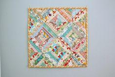 Enchanted Cottage Mini Quilt Pattern