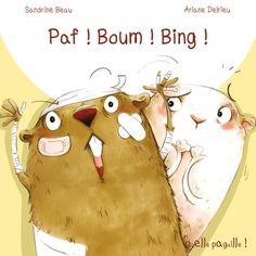Paf ! Boum ! Bing !    pour travailler ! et ? Album, Disney Characters, Grammar, Livres, Card Book