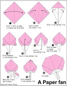 Origami Paper fan