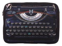 typewriter laptop bag