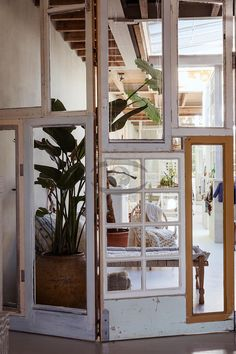 Door Dividers, Fabric Room Dividers, Tiny House Village, Caribbean Homes, Amsterdam Houses, Warehouse Design, Music Studio Room, Workspace Inspiration, Garden Studio