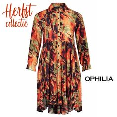 De herfstcollectie van het grote maten merk Ophilia is binnen! #BAGOESnl #plussize #Ophilia #grotematen #fall...