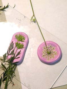 Art Jewelry Elements: Mini Tutorial ~ Wildflower Molds for Bead Making