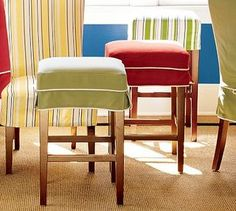 Burlap Bar Stool Covers With Kick Pleat Need To Find Sew