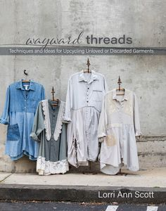 My book on upcycled garment designs is published!