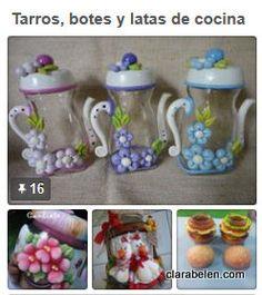 Manualidades para decoración de cocinas. Una recopilación muy completa con tutoriales, vídeos y tableros de Pinterest