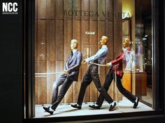 "BOTTEGA VENETA,Fifth Avenue, New York, ""For your idea to work,you've got to have everybody pulling on the same end of the rope..."", pinned by Ton van der Veer"