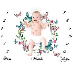 More Info, Visit Official Website -Newborn Baby Girls Boy Milestone Blanket Unicorn Wing Photography Photo Props Shoots Cloth Backdrop Mant. Swaddle Wrap, Baby Swaddle, Baby Boy Blankets, Cotton Blankets, Baby Outfits Newborn, Baby Girl Newborn, Baby Birth, Baby Monat Für Monat, Baby Monthly Milestones