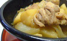 Tori-niku-jaga Braised chicken and potatoes