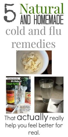 Cold and flu season can be a very challenging time for many people. Luckily there are many amazing natural, homemade cold and flu remedies right here. #ColdRemedies