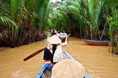 Mekong Delta Day Trip with Cooking Class and Cai Be Floating Market Tour Experience rural life in Vietnam with a boat ride on the Mekong Delta! This day trip from Ho Chi Minh City to Cai Be takes you to tranquil fruit orchards, a candy factory and Cai Be Floating Market before a visit to Tan Phong Island for a cooking lesson. You'll learn the art of Vietnamese cuisine and interact with the locals as you bicycle around the village – a great getaway! Enjoy personal atte...