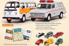 Para os apaixonados por carros, a coleção exclusiva de miniaturas de carros que prestaram serviços a sociedade chega às bancas. Leia mais