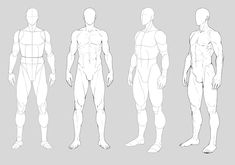 Human Figure Drawing Reference Male anatomy by Precia-T - Body Reference Drawing, Body Drawing, Art Reference Poses, Anatomy Reference, Manga Drawing, Drawing Poses Male, Sketch Poses, Human Figure Drawing, Drawing Models