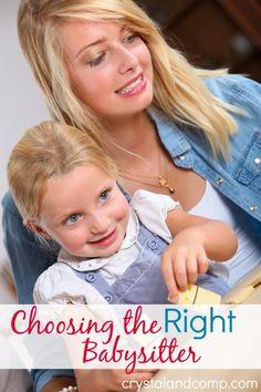 Tips for Choosing the Right Babysitter