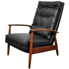 Milo Baughman for James Inc. Lounge Chair Recliner | From a unique collection of…