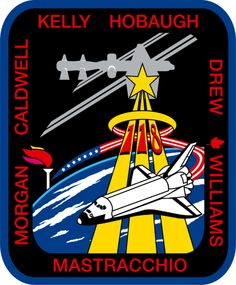 List of Space Shuttle missions Tim Peake, Space Patch, Nasa Patch, Scott Kelly, Kennedy Space Center, International Space Station, Space Program, Space Shuttle, Space Travel
