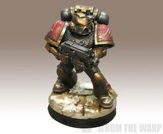 Minotaurs Space Marine with bolter