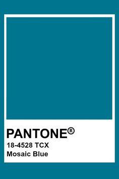 Pantone Mosaic Blue #pantone2020 Pantone Mosaic Blue Bleu Pantone, Pantone Azul, Paleta Pantone, Pantone Swatches, Pantone Colour Palettes, Pantone 2020, Color Swatches, Pantone Color, Pantone Tcx