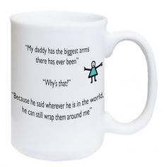MY DADDY HAS THE BIGGEST ARMS - FATHERS DAY GIFT - Courtesy of www.candlesandangels.com