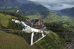 funiviA cabrio da brivido. E con vista mozzafiato - Lucerna, Svizzera