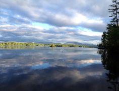 Late August morning  on Kezar Lake