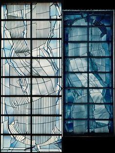 JAPAN - Yokohama - Meiji-Gakuin-Universität. Glasmalerei. Entwurf/Design: Prof. Ludwig Schaffrath, Alsdorf/Germany (1924-2011) - The GURU OF STAINED GLASS