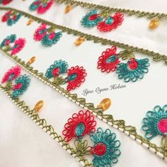 Crochet Edging And Borders Crochet: Punto Abanico Crochet Simple, Crochet Diy, Crochet Chart, Love Crochet, Learn To Crochet, Beautiful Crochet, Crochet Flower, Crochet Classes, Crochet Videos