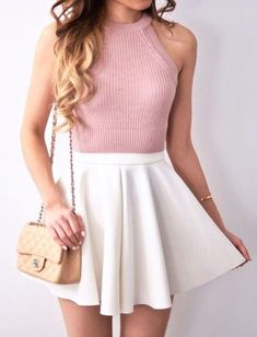 A white skirt for anyone who believes in twirl power