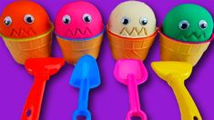 4 Colors Play Doh Ice Cream Cups Colored Ice Cream and Surprise Eggs For. Surprise Eggs For Kids, Play Doh Ice Cream, Funny Songs, Cream Cups, Learning Colors, Coloring For Kids, Make It Yourself
