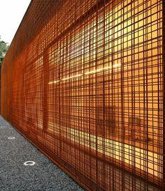 translucent wall.