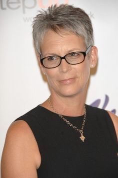 Jamie Lee Curtis.... Love her hair