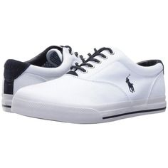 Polo Ralph Lauren Vaughn (Pure White) Men's Shoes (185 BRL) ❤ liked on Polyvore featuring men's fashion, men's shoes, men's sneakers, mens sneakers, mens white sneakers, polo ralph lauren mens shoes, mens shoes and mens white shoes