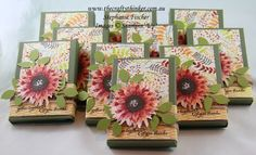 www.thecraftythinker.com.au, Painted Harvest, Thanksgiving Table Favours, kitkat wrapper, #thecraftythinker, Stampin Up