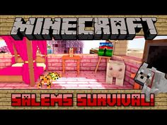 AMY'S ROOM! [113] Salems Survival! #Minecraft PC - YouTube