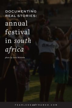 Documenting Real Stories: Annual Festival in South Africa : Fearless and Framed