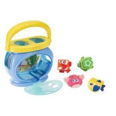 Amazon.com: iPlay Poppin Shapes Aquarium: Toys & Games