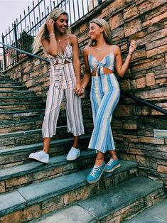 Shop for trendy swimwear, clothing and accessories for women at affordable prices Cute Summer Outfits, Trendy Outfits, Cute Outfits, Fashion Outfits, Casual Summer, Videos Instagram, Best Friend Photos, Friend Pictures, Friend Pics