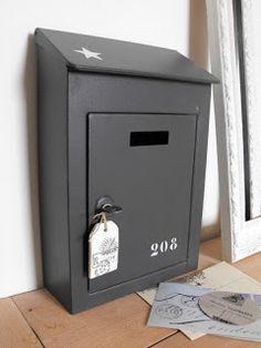 Boîte à lettres zinc / Mailbox zinc