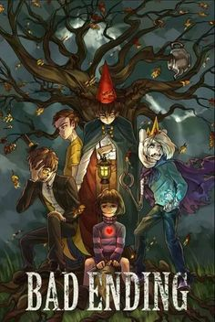 ok so I see finn, wirt, Chara, and Bipper, but who's the one with the eye patch and yellow shirt?