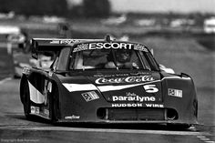 Hans Stuck drives Bob Akin's Porsche 935 during practice for the 1984 race. Stuck, Akin and John O'Steen finished 5th.
